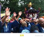 恵利子さん: 代々木八幡宮例大祭