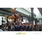 いわくら雷人さん:神田祭