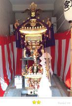 岡倉司郎さん:宮本大小神輿