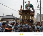 カエルさん:佐原の大祭