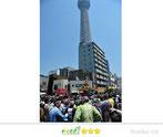 八重垣写真館さん:東京スカイツリー神輿パレード