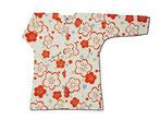 女性用 鯉口シャツ 変わり織(大梅花) サイズ:中(Mサイズ)・身長155cm〜162cm  ※実際の商品と写真の色は若干異なる場合がございます。
