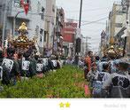 千囃連さん:浅草三社祭 町内渡御