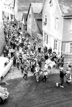 Faschingsumzug 1961