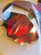 ※赤バラ花束(タイプCを色を変えて作成)