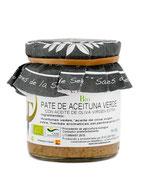 Paté ecológico de aceituna verde