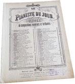 Гаудеамус игитур, фантазия на тему студенческого гимна, Дюбюк, антикварные ноты для фортепиано