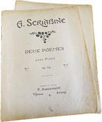 Две поэмы опус 69, Скрябин, ноты для фортепиано