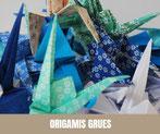 Origamis Grues - Marine BUFFARD