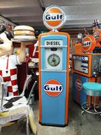 50`s Tanksäule Zapfsäule Benzin Garage Deko Oldtimer Sammler