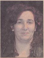 1989. Cristina Lisarri Aldea, administrativa de 34 años, es vecina de Ayegui a diferencia de la mayor parte de sus compañeros, residentes en Estella.