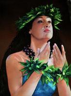 Tänzerin Hawaii