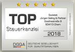 TOP-Steuerkanzlei 2018 - jgp.de