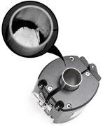 Neuartiger Magnetabscheiderfür Sauglanzen und Rohrleitungen