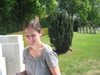 At Ramparts military Cemetery C: B. Belvalette