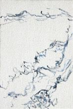 「海のつづき」福村彩子作2014年 油彩、キャンバス サイズ41.5×27.8cm