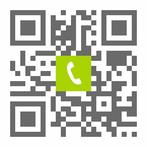 Telefonnummer der Zahnarztpraxis Dr. Siuosh Rassaf in Frankfurt-Niederrad: Einfach scannen und anrufen!