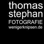 "Logo ""thomas stephan fotografie"""