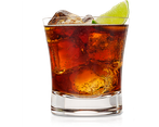 Kubanischer rum mit cola, cuba libre als liquid