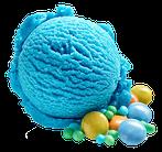 schlumpfeis schön blau und schlump liquid, schlumpfaroma
