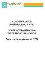 OEA - Jurisprudencia Derechos LGBTI