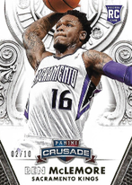 BEN McLEMORE / Rookie card - No. 104  (#d 2/10)