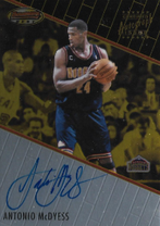 ANTONIO McDYESS / Certified Autograph Issue - No. BBA4