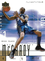 TRACY McGRADY / Flight Team Gold - No. 43  (#d 48/50)