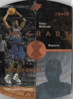 TRACY McGRADY / Rookie card - No. 42  (Bronze)
