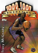 TRACY McGRADY / Generations - No. G30  (Refractor)
