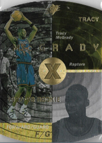TRACY McGRADY / Rookie card - No. 42  (Gold)