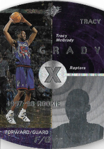 TRACY McGRADY / Rookie card - No. 42