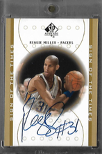 REGGIE MILLER / Sign of the Times - No. RM