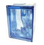 Bild: Design Pegasus Blu Angolare O Ecksteine Angular Angulaire Wave Wolke Blau blue Transparent Glasbaustein Glasstein Glass Blocks Glasbausteine-Center Glasbausteine-Center.de Glassteine Glasbausteine