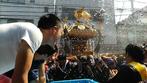 深川神明宮例大祭,神輿連合渡御,勢揃い,水掛けの仕方,