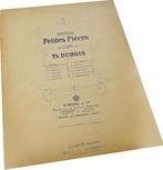 Прелюдия, Теодор Дюбуа, ноты для фортепиано