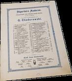 Бретонская песня, Шаминад, старинные ноты для фортепиано