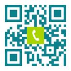 Telefonnummer der Zahnarztpraxis Dr. Peter Keßler in Bad Vilbel: Einfach scannen und anrufen!