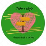 Cartel circular de Taller a elegir