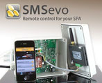 Schwimmspa Smartphone
