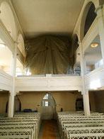 Die verhüllte Orgel