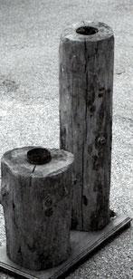 Canalisations en bois trouvées à Champdor