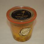 bocal artisanal foie gras de canard nature