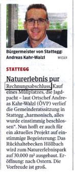 Kleine Zeitung 27.03.2021
