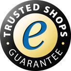 Garantie bis zu 20.000 EUR durch Trusted Shops