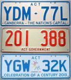 australische Kennzeichen kaufen