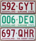 australische Nummernschilder kaufen