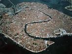 Venise vue d'avion