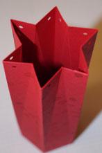 Anleitung sechseckige Verpackung