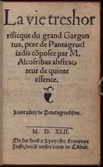 Un spectacle qu'a bien apprécié Valérie De Changy auteur de Fils de Rabelais (voir bibliothèque)